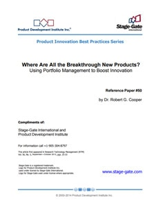 Where Are All the Breakthrough New Products?