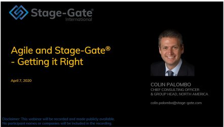 Agile and Stage-Gate Webinar Image